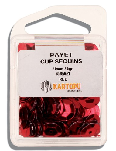 Kartopu 10 mm Red Payet - 03.102