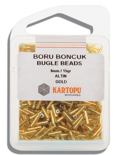 Kartopu 6 mm Glass Bugle 15 gr - 04.101