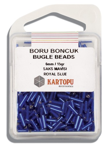 Kartopu 6 mm Glass Bugle 15 gr - 04.104