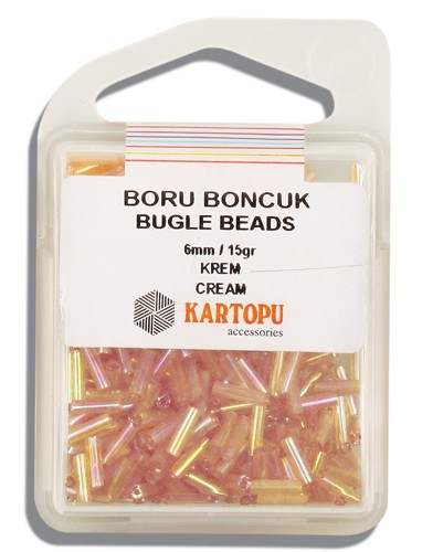 Kartopu 6 mm Glass Bugle 15 gr - 04.114