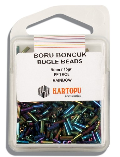 Kartopu 6 mm Glass Bugle 15 gr - 04.119