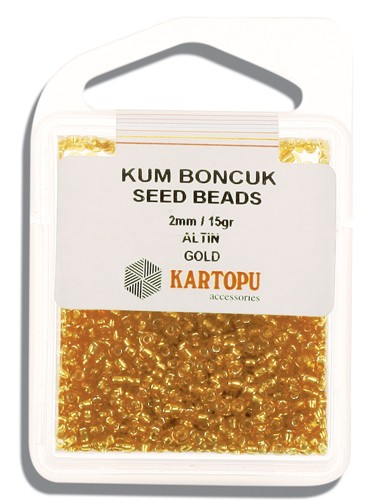 Kartopu 2 mm Glass Seed 15 gr - 07.101