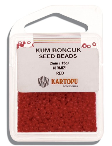Kartopu 2 mm Glass Seed 15 gr - 07.102