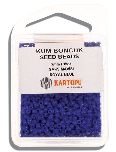 Kartopu 2 mm Glass Seed 15 gr - 07.104
