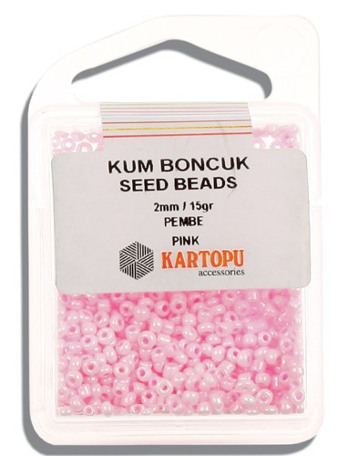 Kartopu 2 mm Glass Seed 15 gr - 07.107