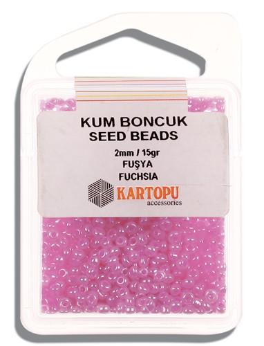Kartopu 2 mm Glass Seed 15 gr - 07.113
