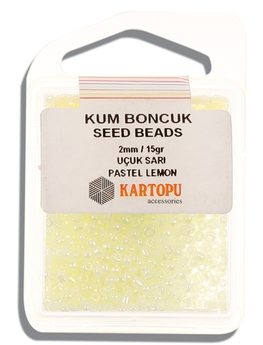 Kartopu 2 mm Glass Seed 15 gr - 07.122