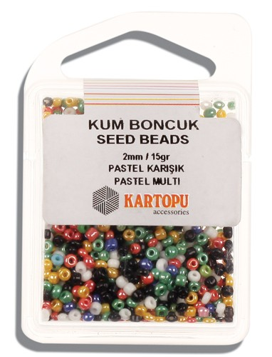 Kartopu 2 mm Glass Seed 15 gr - 07.125