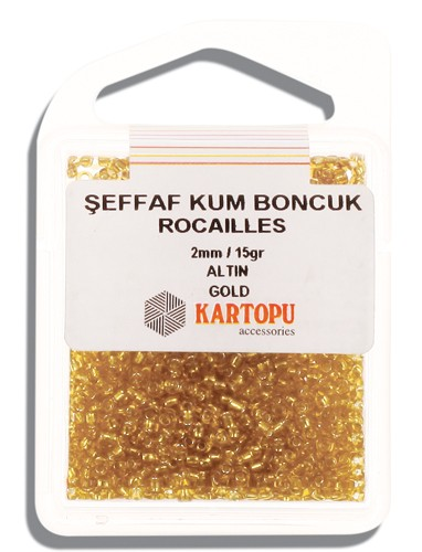 Kartopu 2 mm Glass Rocailles 15 gr - 08.101