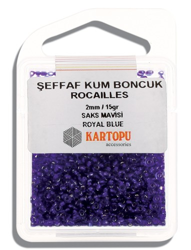 Kartopu 2 mm Glass Rocailles 15 gr - 08.104