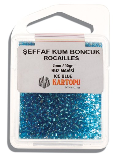 Kartopu 2 mm Glass Rocailles 15 gr - 08.112