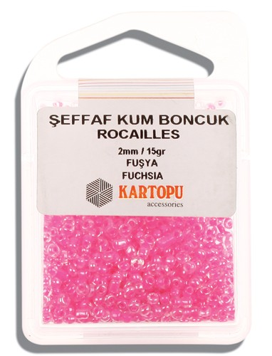 Kartopu 2 mm Glass Rocailles 15 gr - 08.113