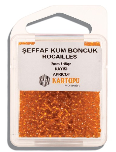Kartopu 2 mm Glass Rocailles 15 gr - 08.117