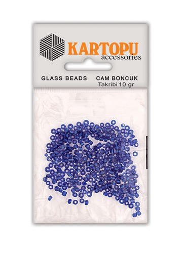 Kartopu Glass Bead Round - CB3