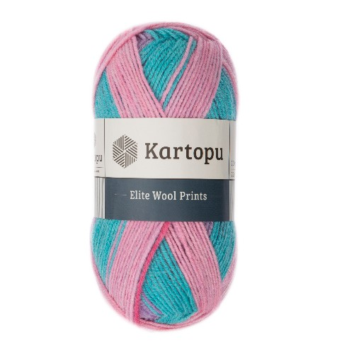 Kartopu Elite Wool Prints - H1916
