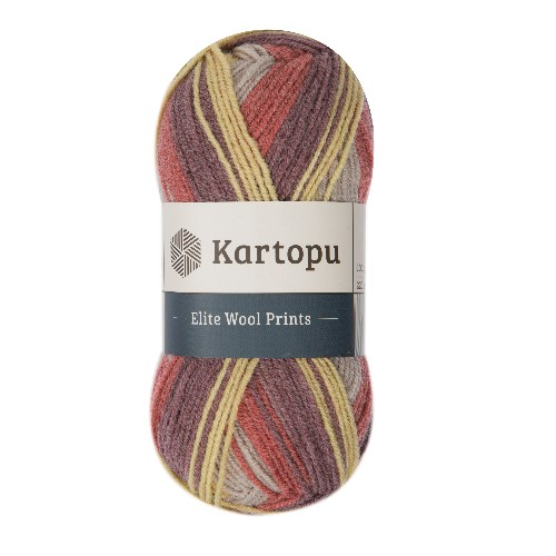 Kartopu Elite Wool Prints - H1918