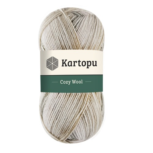 Kartopu Cozy Wool Sport Prints - H1903