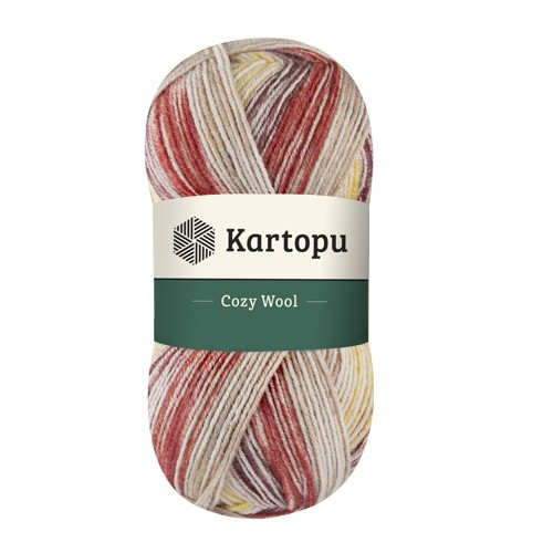 Kartopu Cozy Wool Sport Prints - H1910