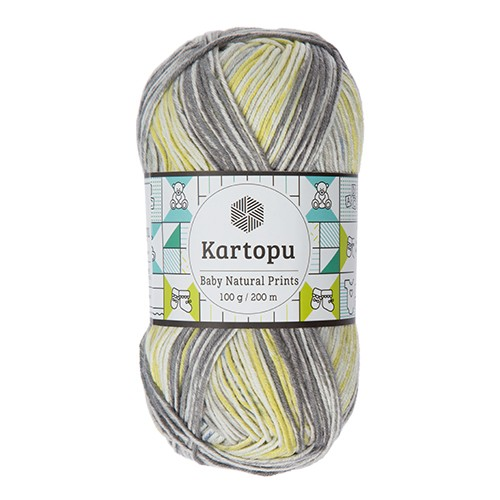 Kartopu Baby Natural Prints - H1801