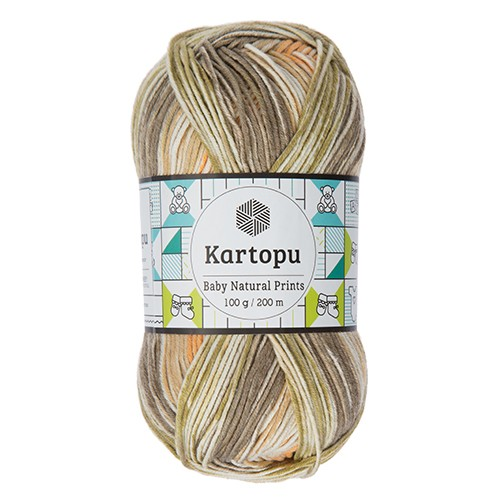 Kartopu Baby Natural Prints - H1802