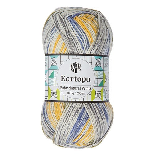 Kartopu Baby Natural Prints - H1803