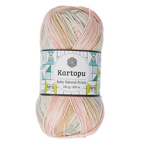Kartopu Baby Natural Prints - H1804