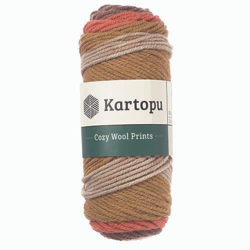 Kartopu Cozy Wool Prints - H1870