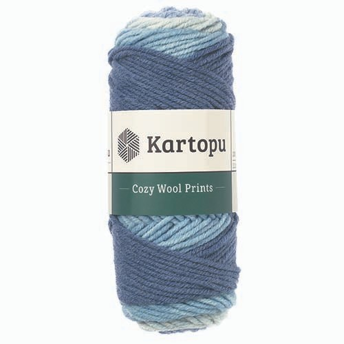 Kartopu Cozy Wool Prints - H1872