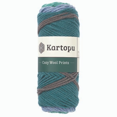 Kartopu Cozy Wool Prints - H1873