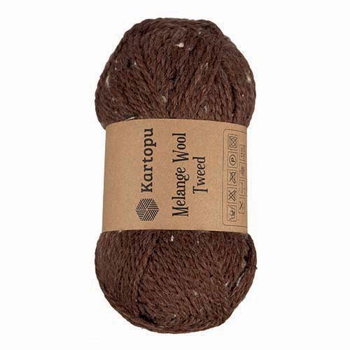 Kartopu Melange Wool Tweed - M1370