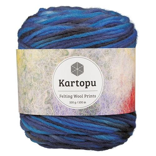 Kartopu Felting Wool Prints - D2235
